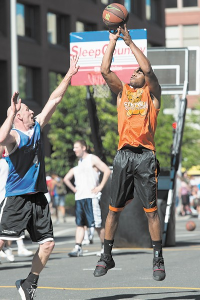 Hoopfest is expected to bring big crowds to downtown Spokane yet again this weekend.