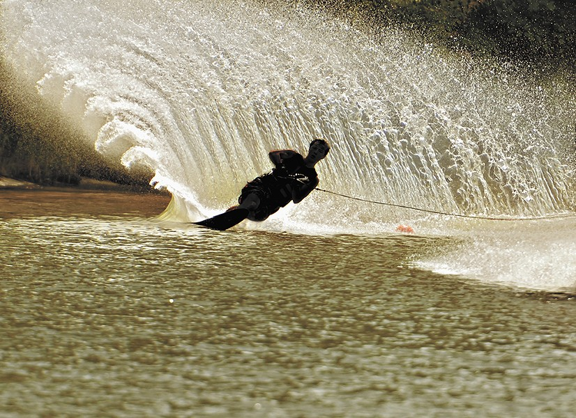 Water skiing doesn't need to happen on vacation.
