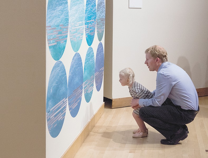 Drawn to the Wall features the work of five Inland Northwest artists. - KRISTEN BLACK
