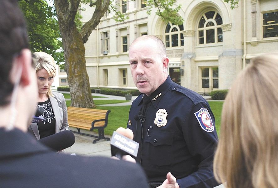 Former Chief Frank Straub has landed a new job in the other Washington.