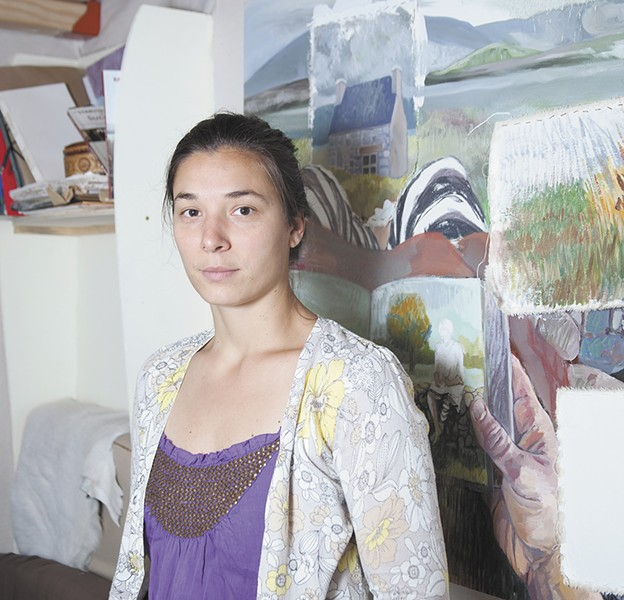 Since arriving in the U.S. from Romania, Iosub has been fine-tuning her artistic style. - ANNIE KUSTER