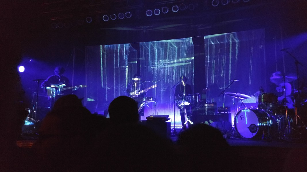 The light show behind the band served as suitable visual accompaniment to the auditory spaciness. - ISAAC HANDELMAN