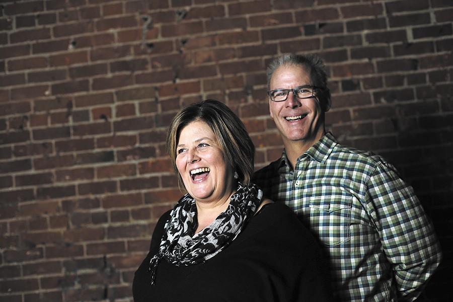 Two of the four owners of the Spokane Comedy Club, Renee and Kevin Fandt. - YOUNG KWAK