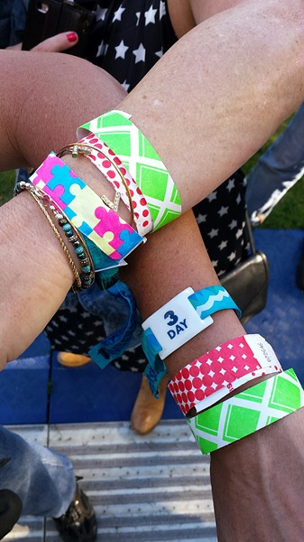How many wristbands does one need to get a beer at Bumbershoot? More than you think.