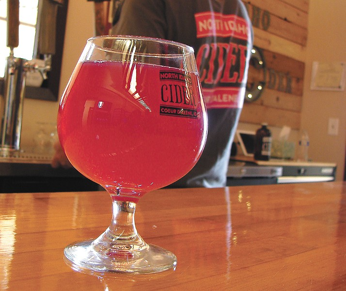 North Idaho Cider has added flavors with their expansion. - CARRIE SCOZZARO