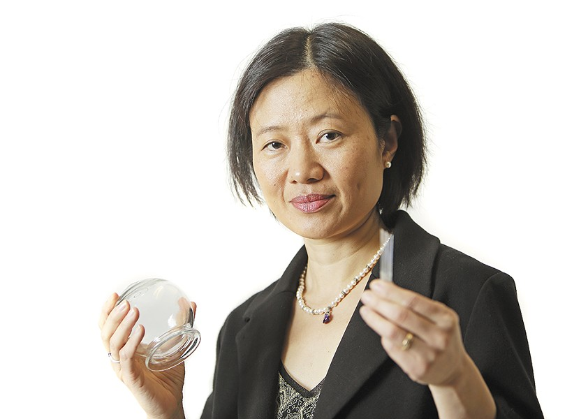 Rheumatologist Sherry Wu is also trained in traditional Chinese medicine. - YOUNG KWAK