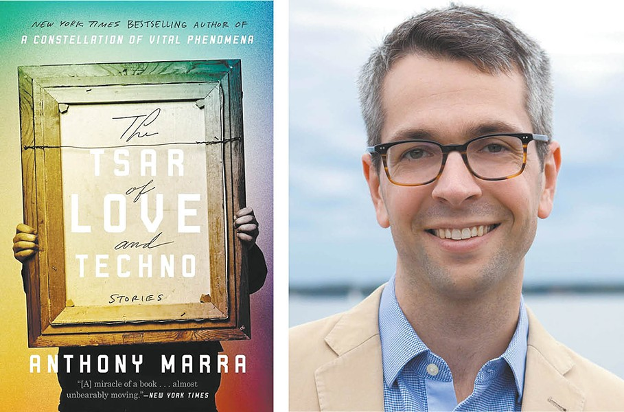 Anthony Marra's story collection is this year's Spokane is Reading selection.