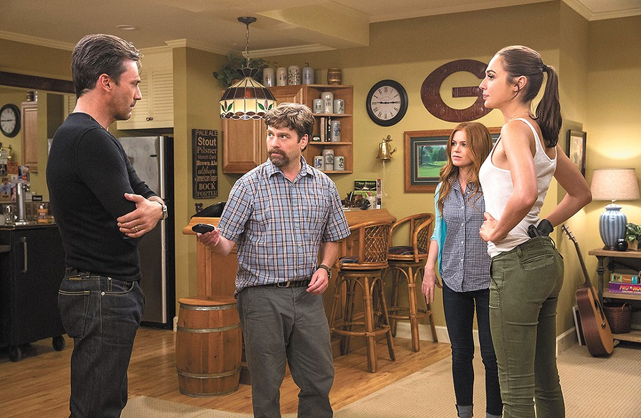 An all-star cast can't save the poor script in Keeping Up with the Joneses.