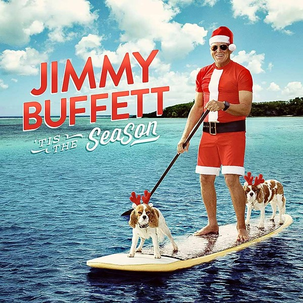 Jimmy Buffett's new Christmas album