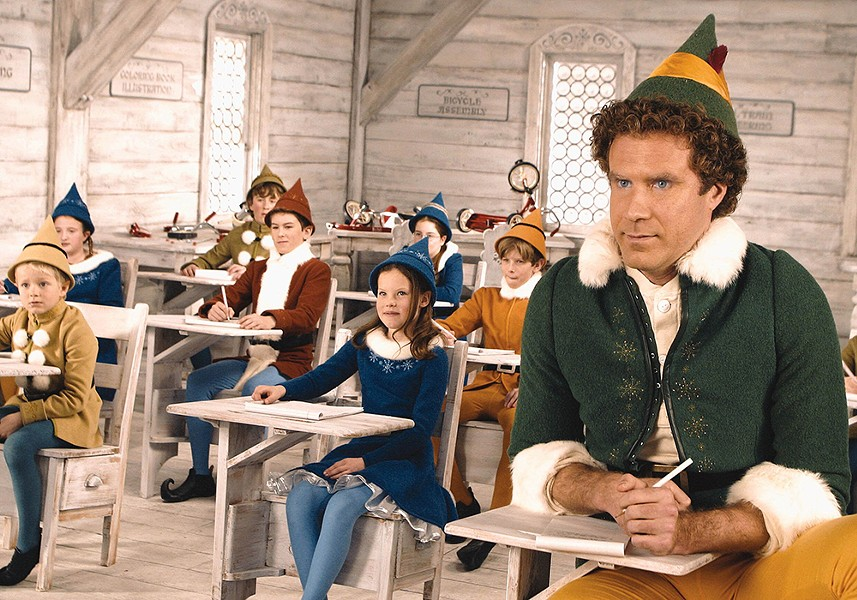 See Elf on the Garland's big screen Dec. 20.
