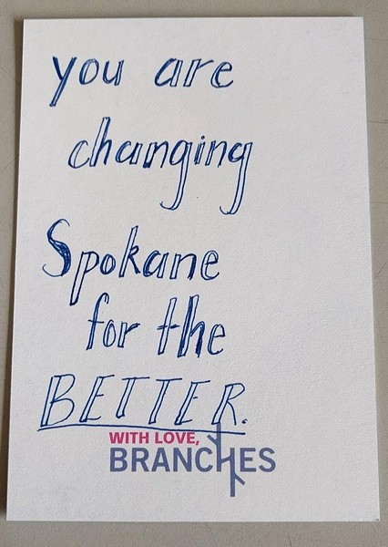"""You are changing Spokane for the BETTER."""