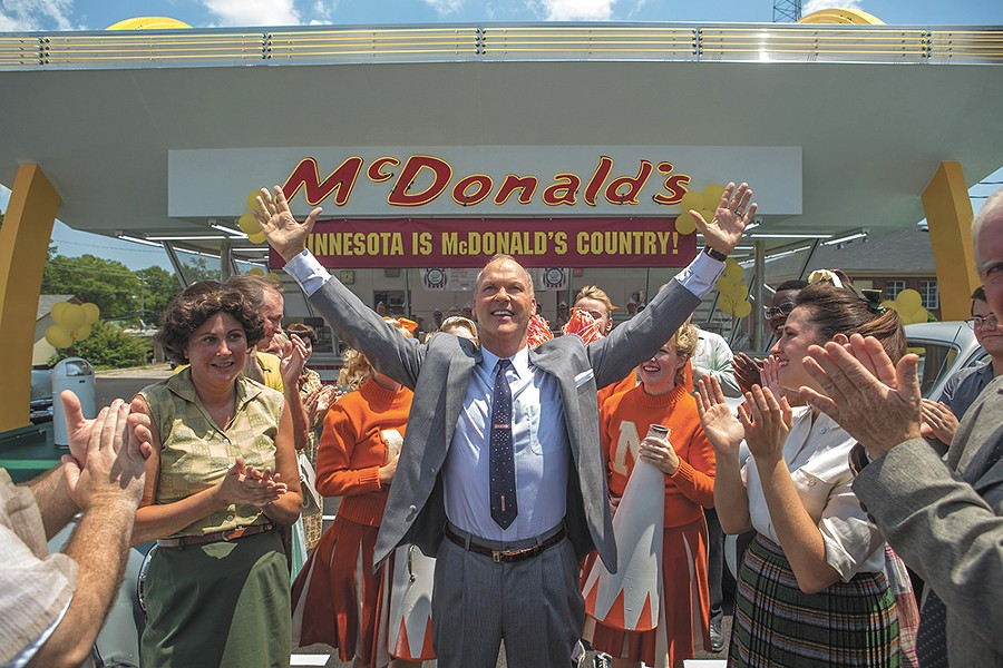 Michael Keaton is as intense as ever as the king of fast food.