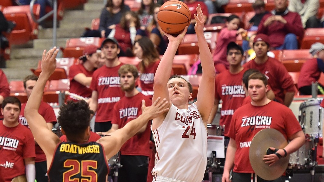 The Cougs are hanging tough in the middle of the Pac-12 pack. - WSU ATHLETICS