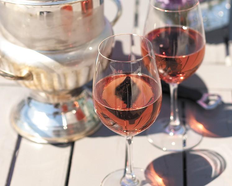Coeur d'Alene's 2014 rosé - YOUNG KWAK