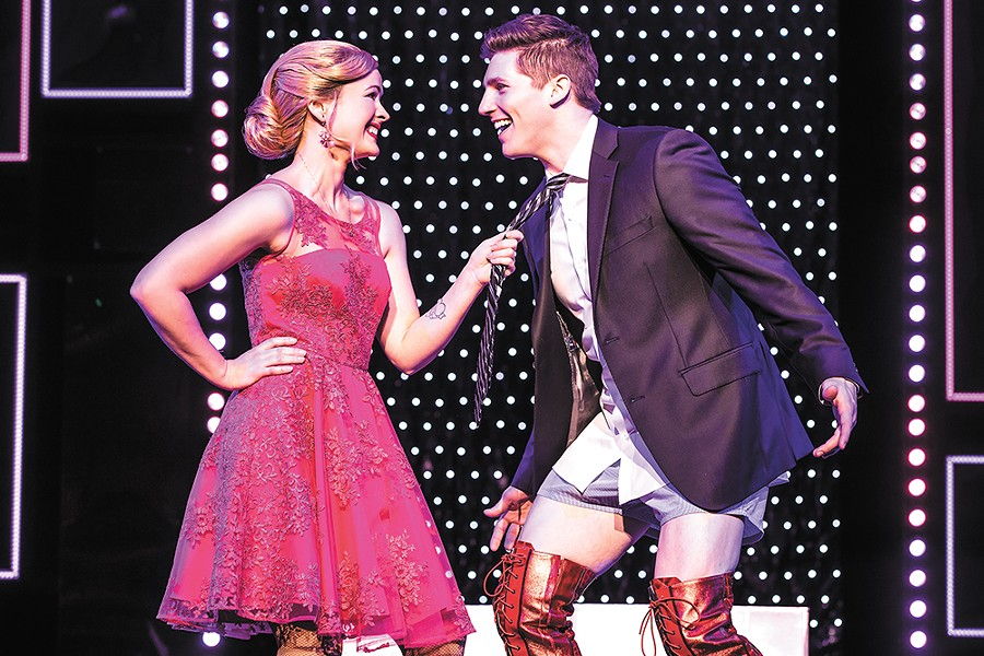Rose Hemingway and Curt Hansen perform in the traveling production. - MATTHEW MURPHY