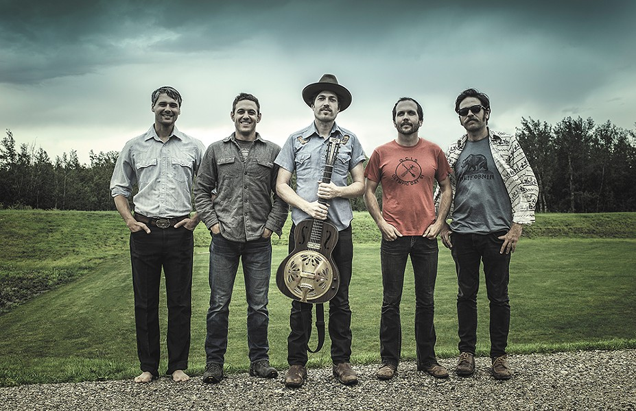 San Francisco quintet the Brothers Comatose fuse rock, country and bluegrass in unexpected ways. - DIRK DELANEY