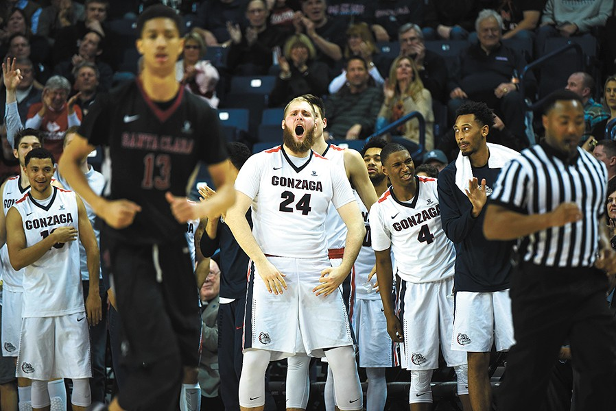 Marching on: This Zags team has taken all the steps necessary for greatness. - RAJAH BOSE