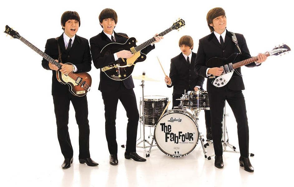 The Fab Four play with the Spokane Symphony April 29.