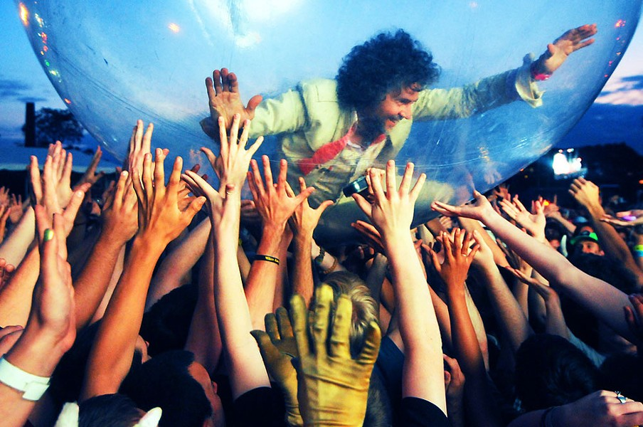 The Flaming Lips headline Saturday at The Knitting Factory. Prediction: Both you and the band will have a ball.