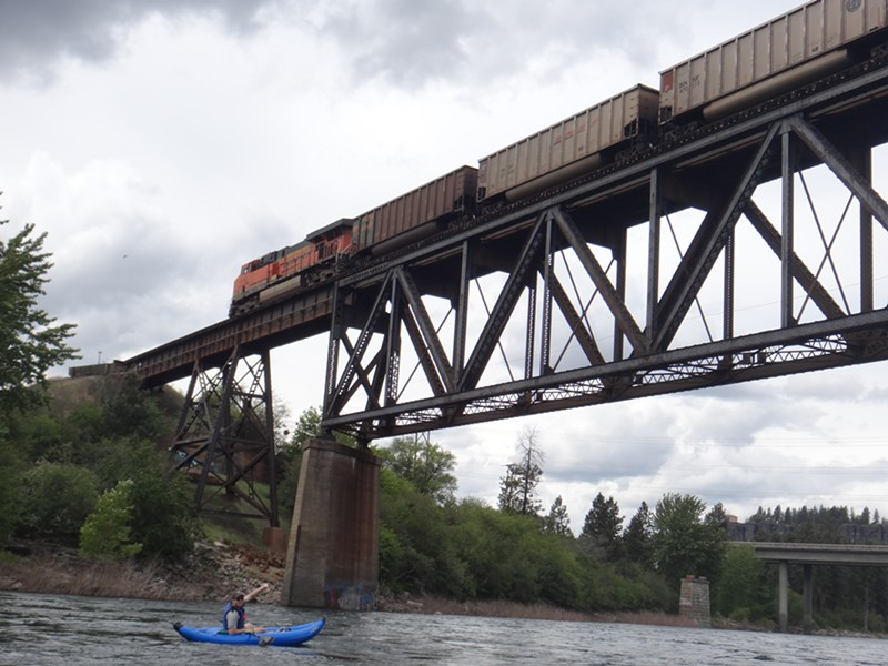 Coal dust can be hazardous to human health and safety, but there's not much evidence that enough coal dust is escaping uncovered trains passing through Spokane to pose a clear danger. - SARA MIHAILOVICH PHOTO
