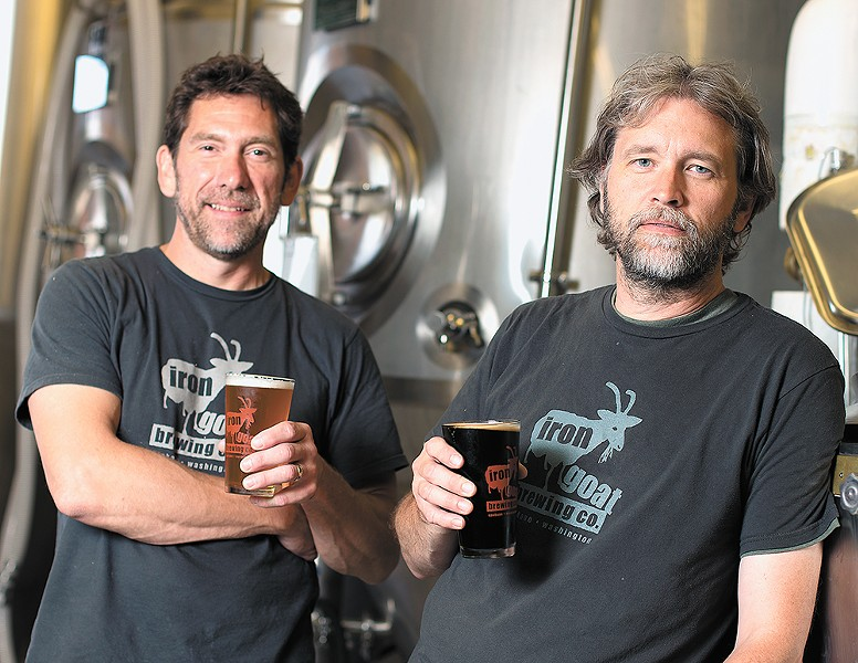 Iron Goat's owners are celebrating five years of beer. - YOUNG KWAK