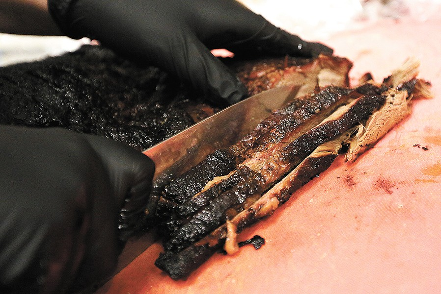 JJ's Tap and Smokehouse offers some of the best brisket in town. - YOUNG KWAK