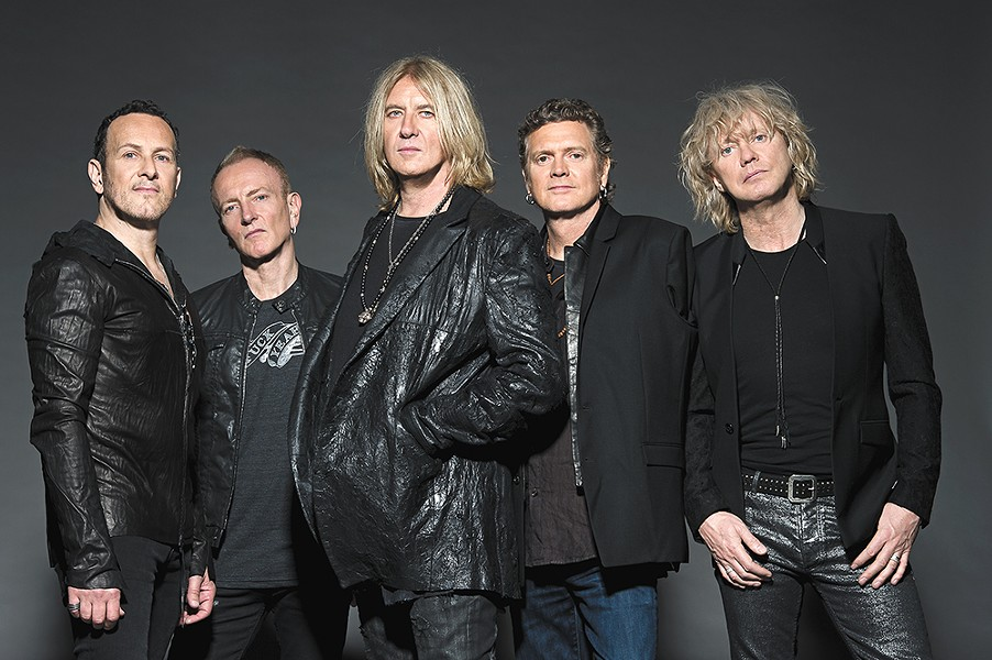 Arena rock stalwarts Def Leppard are still kicking ass. No, seriously. - KAZUYO HORIE