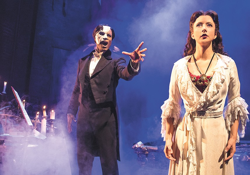 Don't miss The Phantom of the Opera, June 28-July 9. - MATTHEW MURPHY