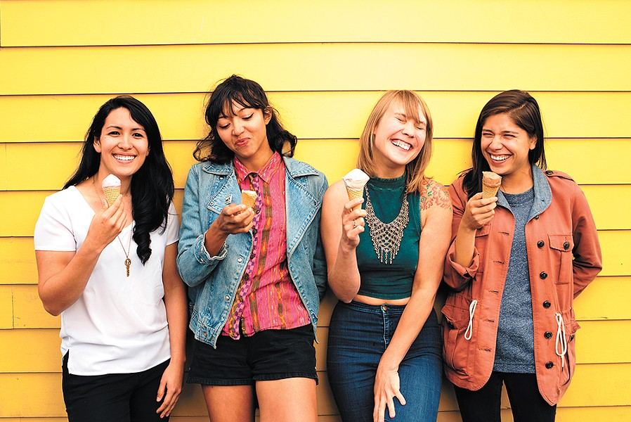 La Luz play The Bartlett July 7