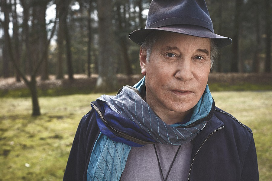 Paul Simon, one of pop music's most respected tunesmiths, performs at the Arena on Friday night. - MYRNA SUAREZ