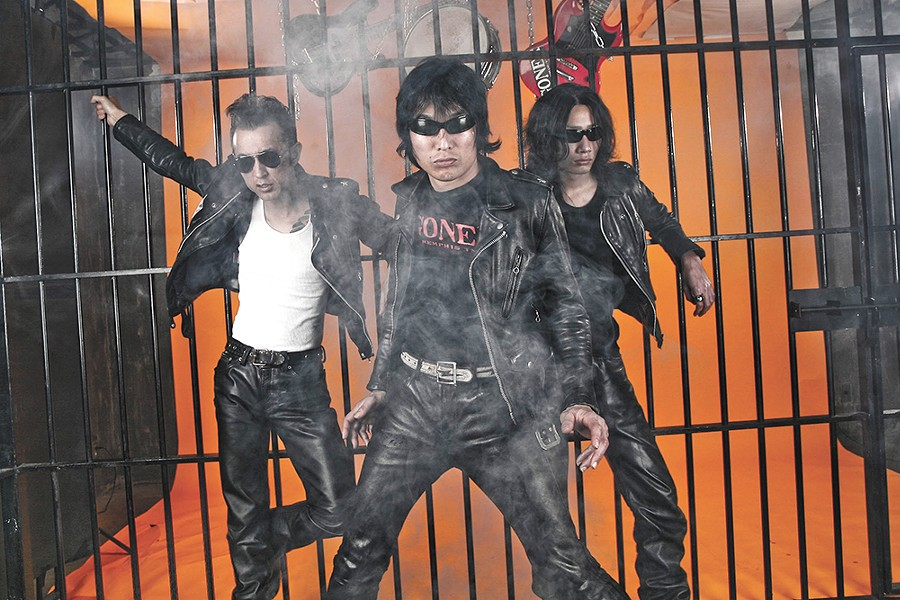 Now in their third decade, Japan's hard-rock legends Guitar Wolf still find new ways to outdo themselves.