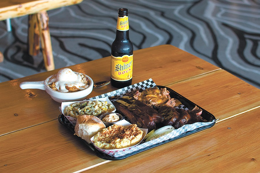 Outlaw BBQ takes it slow and low in bringing tasty meats to North Spokane. - STUART DANFORD