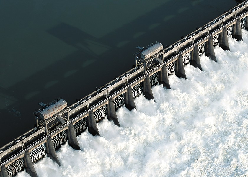 Bonneville Dam is the last of eight dams that Snake River salmon pass on their way to sea. - ERIC PRADO