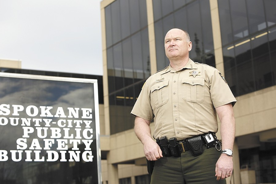 Knezovich: Hoping to attract new recruits for the Spokane County Sheriff's department via reality TV.