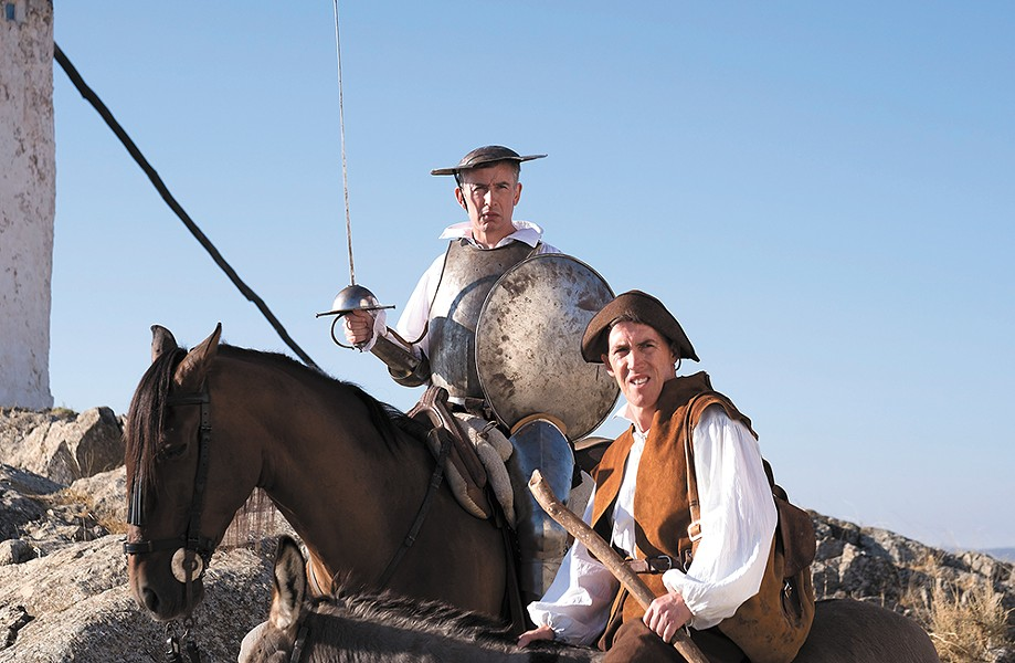 Rob Brydon (right) is the Sancho Panza to Steve Coogan's Don Quixote in the mostly improvised comedy The Trip to Spain.