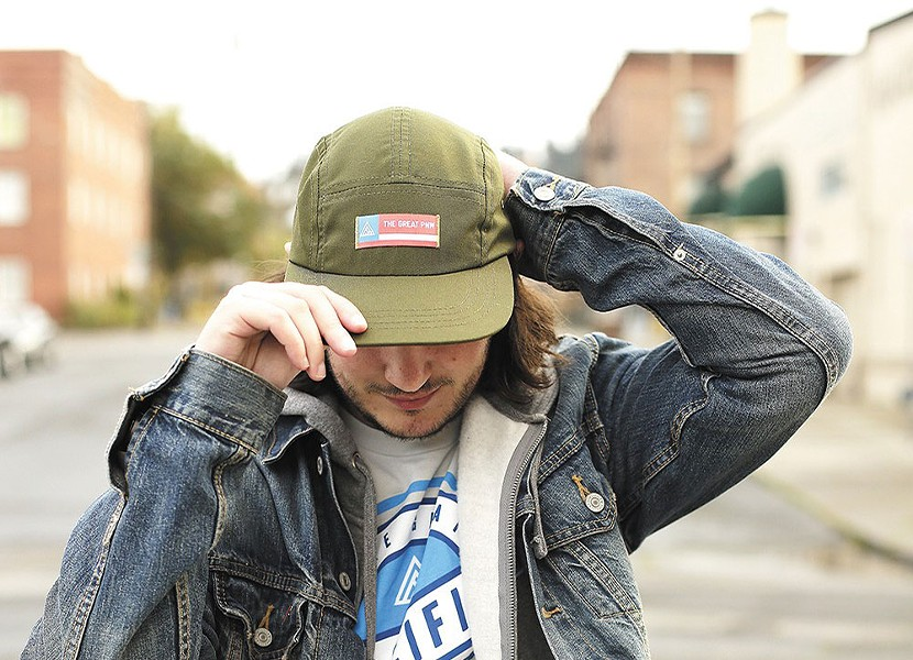 You can find Great PNW gear at Kingsley & Scout - YOUNG KWAK