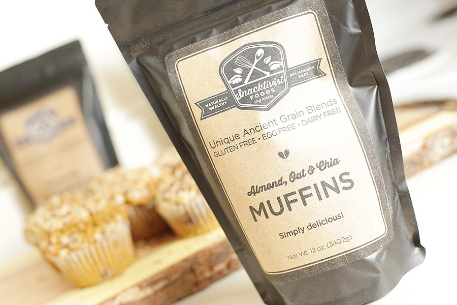 Vegan-friendly muffin mix. - YOUNG KWAK