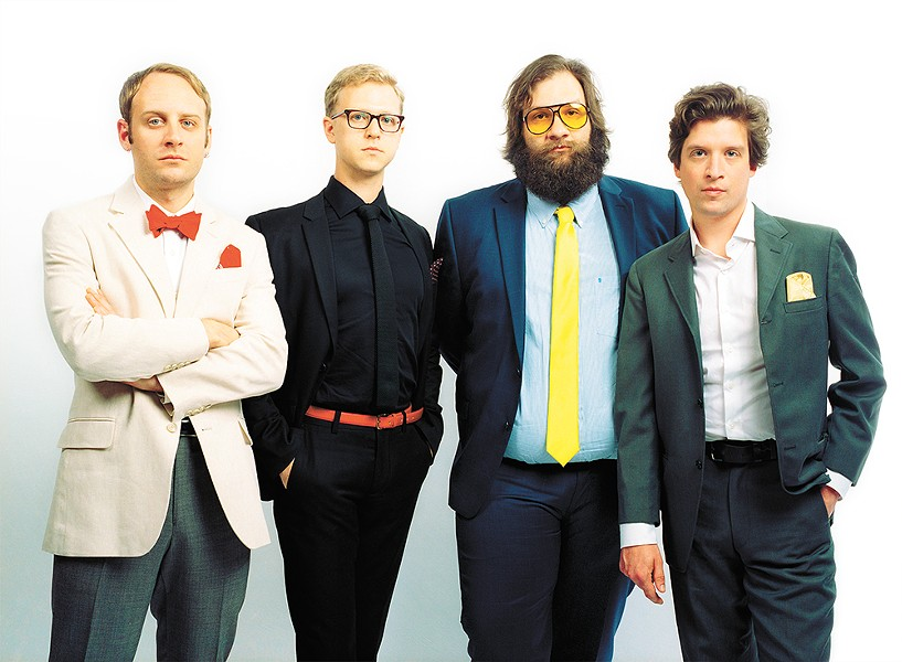 Deer Tick hits Spokane for the first time with two new albums in tow — one acoustic, one electric. - LAURA PARTAIN