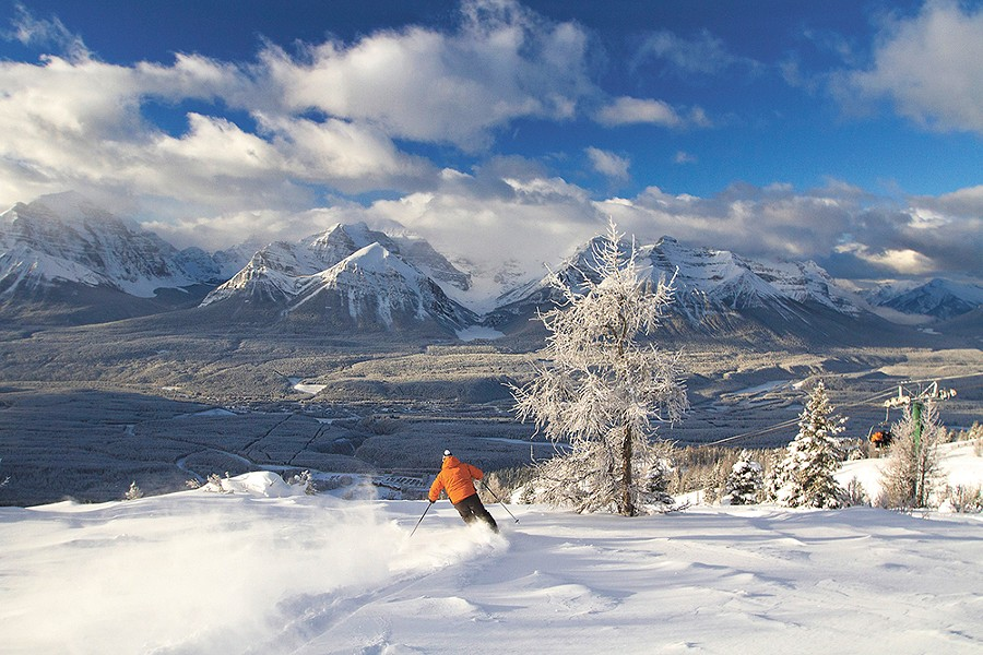 Lake Louise is the biggest resort in the Canadian Rockies. - CHRIS MOSELEY