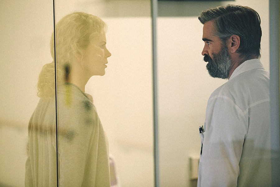 Through a glass, darkly: The Killing of a Sacred Deer is here to offend your most delicate sensibilities.