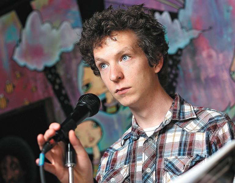 New Spokane Poet Laureate Mark Anderson - YOUNG KWAK
