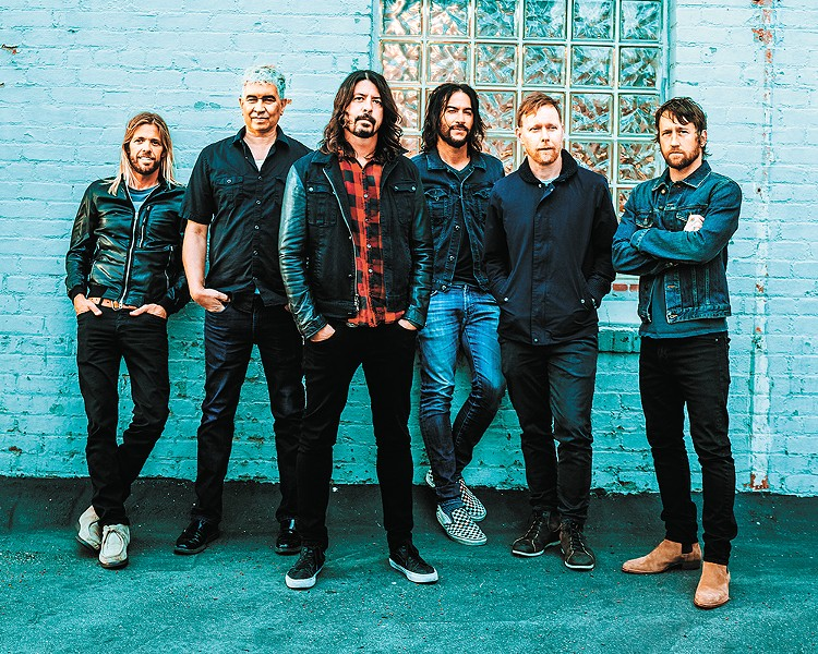 Catch Foo Fighters in Spokane on Dec. 4.