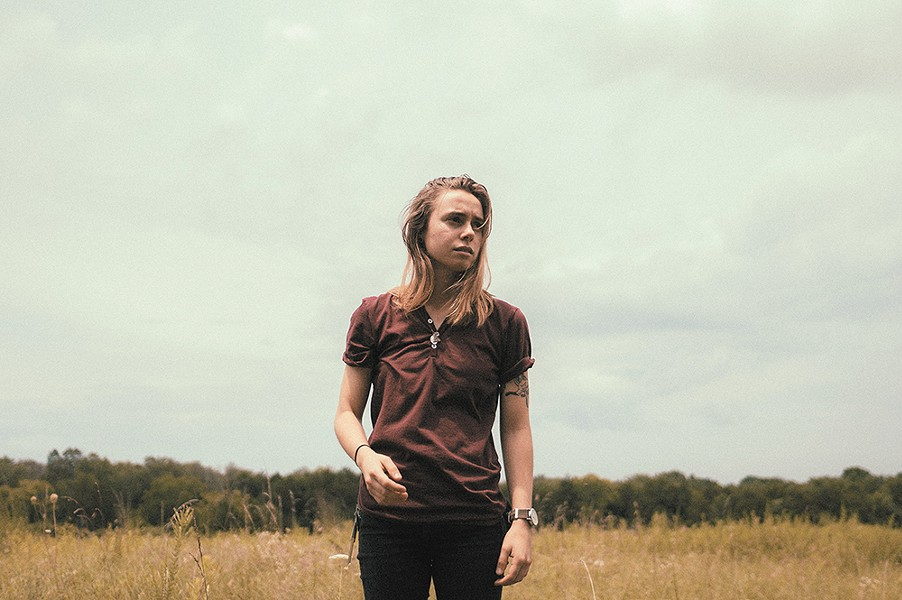 Singer-songwriter Julien Baker will bring stories of heartbreak and honesty to the Bartlett next week. - NOLAN KNIGHT