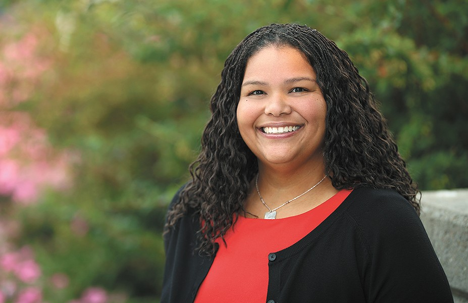 Inga N. Laurent is an associate professor and director of the Externship Program at Gonzaga University's School of Law. She returned to the faculty this fall after spending nine months researching restorative justice in Jamaica as a Fulbright scholar.