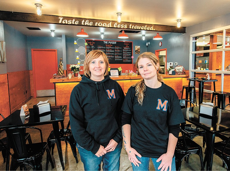 Brenda Eickerman (left) and Jamie Scott opened the Mascot in early December. - ERICK DOXEY