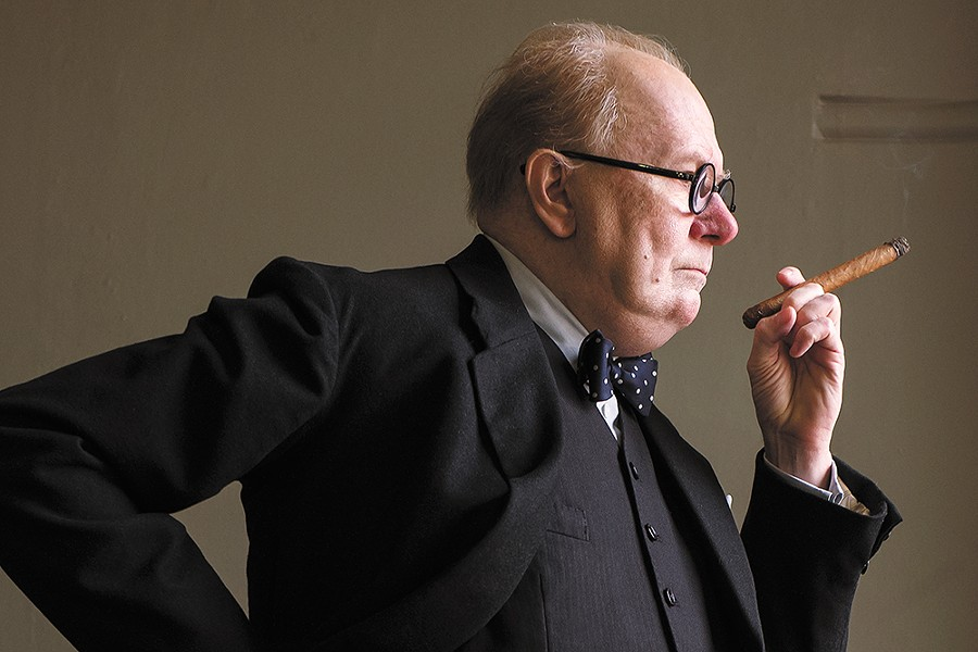 Gary Oldman is unrecognizable, and incredible, in the role of Winston Churchill.