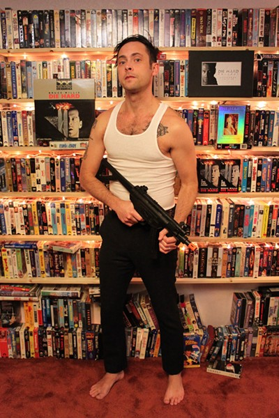 "Can one man do ""Die Hard"" justice? See for yourself Friday at The Bartlett. - RYAN DEAN TUCKERT"