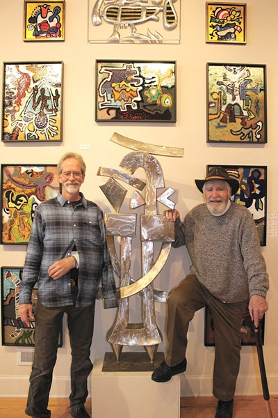Steve Gibbs and Harold Balazs - COURTESY ART SPIRIT GALLERY
