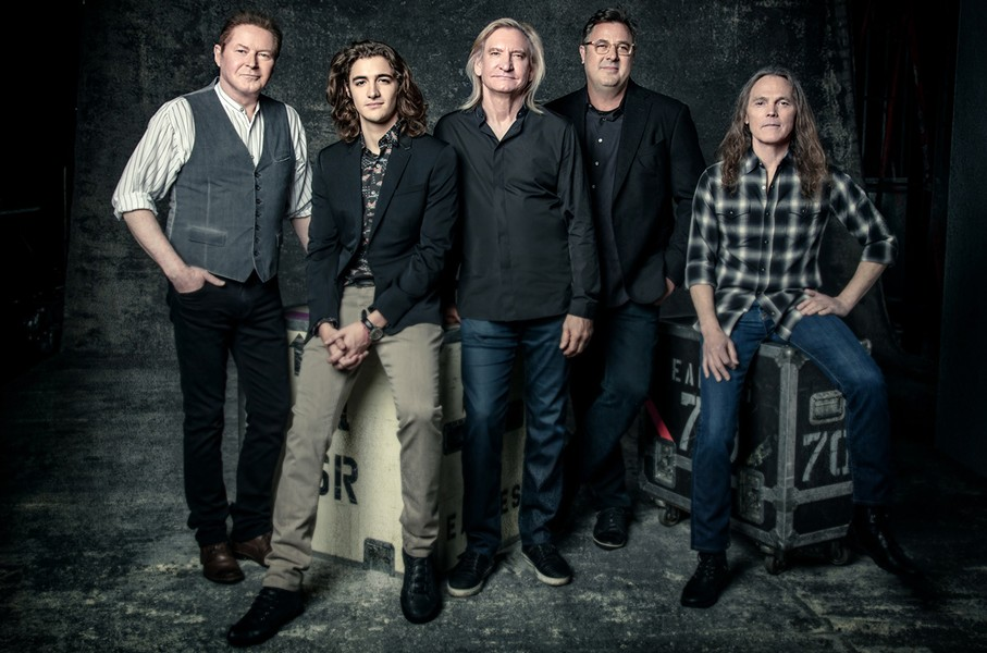 The Eagles current lineup is coming to Spokane May 8.