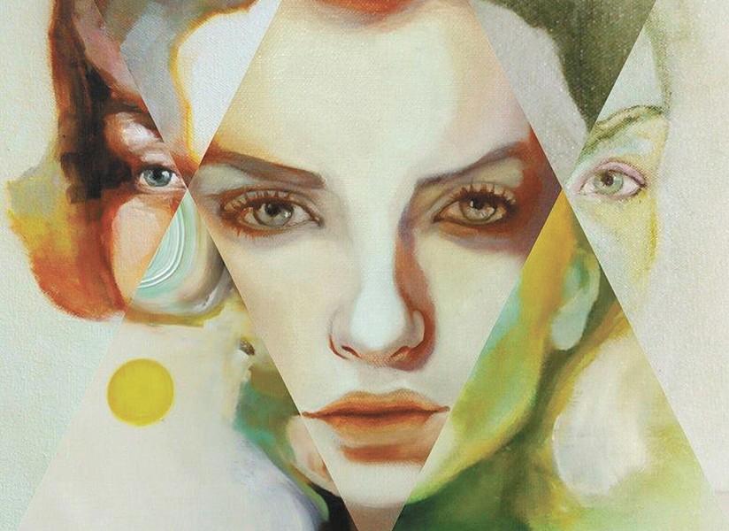 TOP: Shana Smith's art is at Kolva-Sullivan.